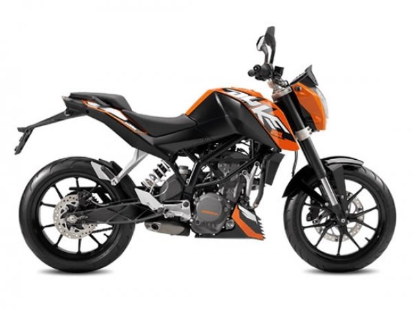 Motorcycle Rental KTM Duke 200 #2